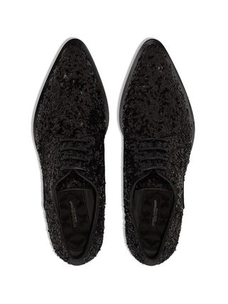 Dolce & Gabbana シューズ・サンダルその他 関税込◆Millennials sequin-embellished lace-up shoes(6)