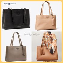 【Tory Burch】MCGRAW TRIPLE-COMPARTMENT TOTE☆
