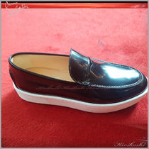 ◆Christian Louboutin 19AW最新◆Paqueboat◆ボートシューズ黒