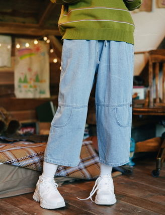 WV PROJECT デニム・ジーパン WV PROJECT★AGAIN BANDING WIDE PANTS JJLP7321 2カラー(3)