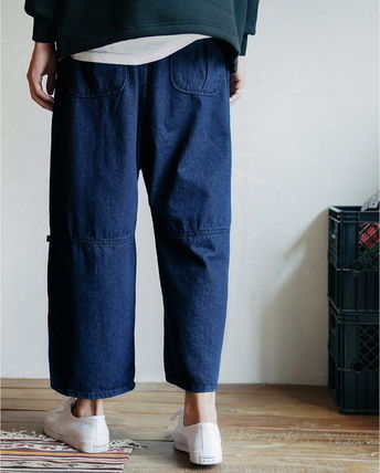 WV PROJECT デニム・ジーパン WV PROJECT★AGAIN BANDING WIDE PANTS JJLP7321 2カラー(9)