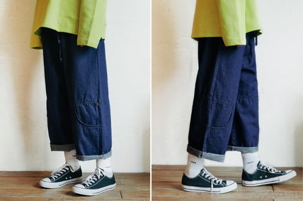 WV PROJECT デニム・ジーパン WV PROJECT★AGAIN BANDING WIDE PANTS JJLP7321 2カラー(11)