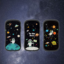 「To The Moon」シリーズ iPhone XS XR 8plus ケース 宇宙 空 月