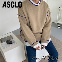 [送料込] ASCLO◆End Coloring Knit (2color)_韓国発