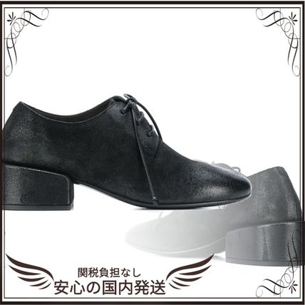 marsell シューズ・サンダルその他 関税込◆distressed lace-up shoes