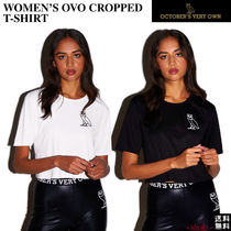 OCTOBERS VERY OWN(オクトーバーズ ベリー オウン) Tシャツ・カットソー ☆October's Very Ow☆WOMEN'S OVO CROPPED T-SHIRT★
