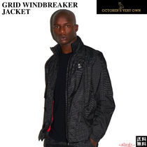 【Drakeブランド】October's Very Own☆GRID WINDBREAKER JACKET