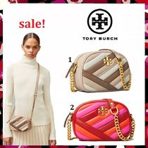 セール 新作 Tory Burch Kira Chevron Color Block Camera Bag