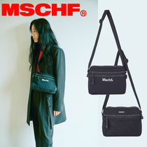 〜MISCHIEF〜 STITCH MINI CROSS BAG_BLACK -大人気MSCHFボディ.