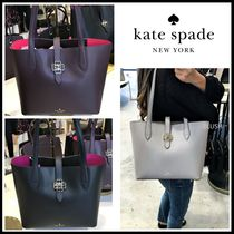 【Kate Spade】♠お花ターンロック・トートバッグ♠
