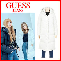 海外別注★Guess X BLACKPINK★Long down jacket★2色★安全発送