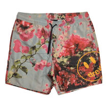 【drew house】Bougainvillea Pool Shorts