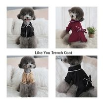 【TOTO&ROY】Like You Trench Coat★3color★S〜XL