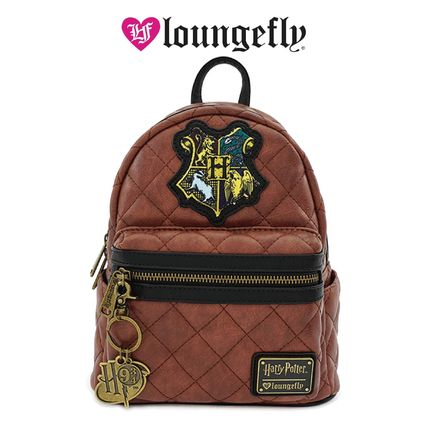 LOUNGE FLY バックパック・リュック [Loungefly]★ハリポタコラボ★ Leather Quilted Mini Backpack