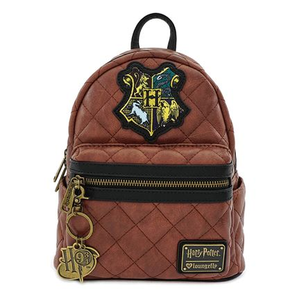 LOUNGE FLY バックパック・リュック [Loungefly]★ハリポタコラボ★ Leather Quilted Mini Backpack(2)