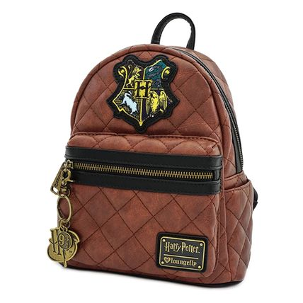 LOUNGE FLY バックパック・リュック [Loungefly]★ハリポタコラボ★ Leather Quilted Mini Backpack(3)