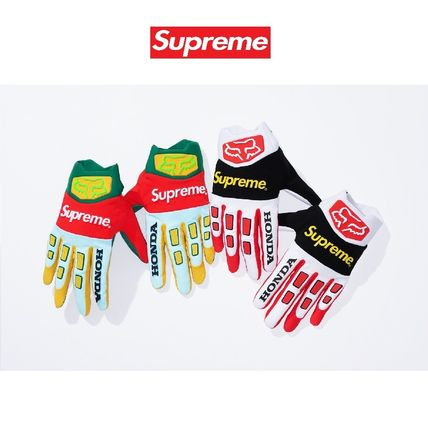 Supreme その他ファッション 19FW Week6 Supreme Honda Fox Racing Gloves S〜XL