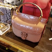2019 NEW♪ Tory Burch ★ MCGRAW EMBOSSED SATCHEL