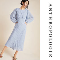 【Anthropologie】Michaela Textured Midi Dress d ミディワンピ