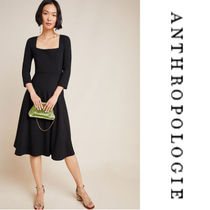 【Anthropologie】Jocelyn Midi Dress b スクエアネック ワンピ
