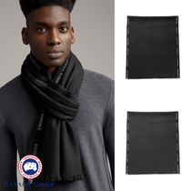 【CANADA GOOSE】WOVEN SELVEDGE SCARF★セルベッジスカーフ