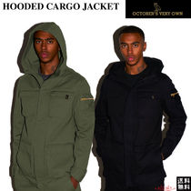 【Drake愛用】☆October's Very Own☆HOODED CARGO JACKET★