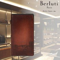 【BERLUTI】Flip Case iPhone Xs Max Leather Venezia