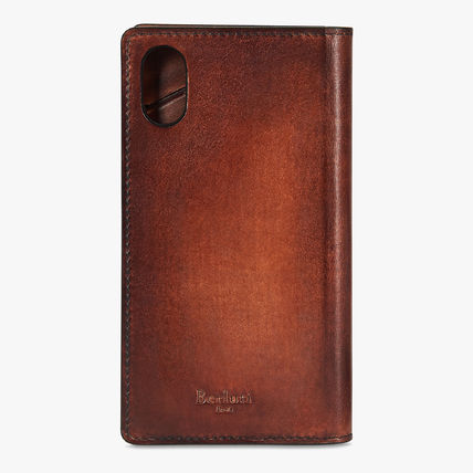 Berluti スマホケース・テックアクセサリー 【BERLUTI】Leather Flip Case iPhone XS Venezia(3)