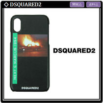 【Dsquared2】Car Explosion iPhone X カバー 関税・送料込