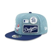 【デニム】LOS ANGELES DODGERS DENIM NEW ERA キャップ