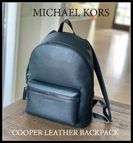 10月新作 メンズ★Michael Kors★COOPER LEATHER BACKPACK