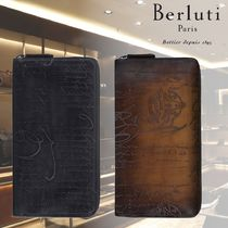 【BERLUTI】Zipped wallet