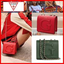 ☆韓国の人気☆【Guess】☆CHRISSY MINI CROSSBODY FLAP☆2色☆