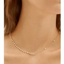 ♡Hei♡unbalance pearl chain necklace 2色