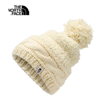 新作【THE NORTH FACE】 WOMEN'S MIXED STITCH BEANIE