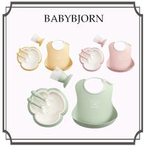 Babybjorn☆ベビーディナーセット 5P ギフト Green/Pink/Yellow