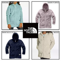 大人もOK!The North Face  GIRLS' CAMPSHIRE LONG フーディー