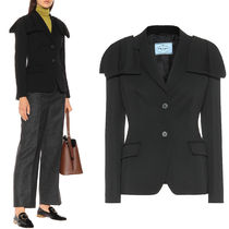 PR2156 WOOL JACKET WITH BOW