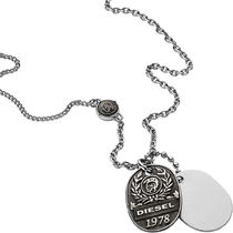 DIESEL ディーゼル Double Dogtags ネックレス DX1106040