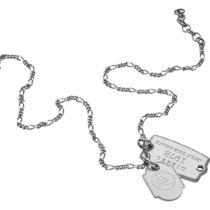 DIESEL ディーゼル Double Dogtags ネックレス DX1132040