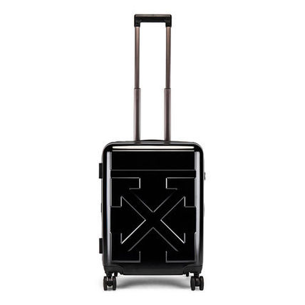 Off-White スーツケース 【OFF-WHITE】BLACK QUOTE LUGGAGE