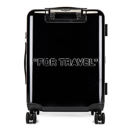 Off-White スーツケース 【OFF-WHITE】BLACK QUOTE LUGGAGE(2)