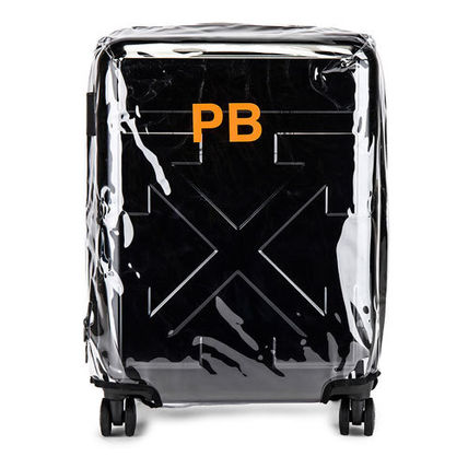 Off-White スーツケース 【OFF-WHITE】BLACK QUOTE LUGGAGE(4)