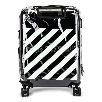 Off-White スーツケース 【OFF-WHITE】BLACK QUOTE LUGGAGE(5)