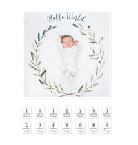 Lulujo☆baby's first year blanket & cards sets☆Hello World