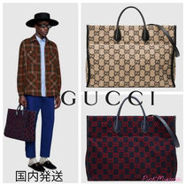 GUCCI(グッチ) トートバッグ 国内発送/GUCCI/GGウール トートバッグ