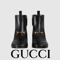 ★GUCCI★ Gucci Jordaan leather ankle boot ☆ブーツ☆
