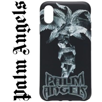 Palm Angels スマホケース・テックアクセサリー 国内発送  Palm Angels Palm プリント  iPhone XR case