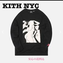【KITH】新作 PARRA ARTIST BUSINESSWOMAN  ロンT全三色
