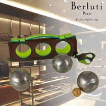 【BERLUTI】Stretched Petanque Game In Leather